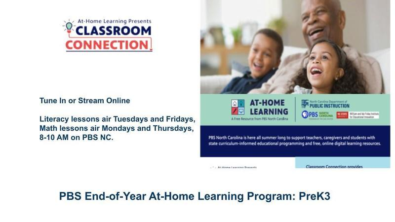 PBS End-of-Year At-Home Learning Program: PreK-3 Featured Photo