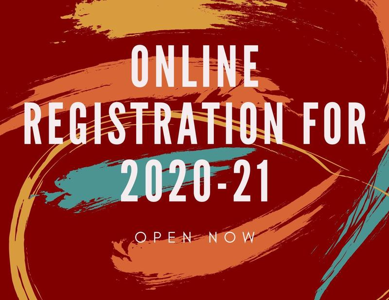 Online Registration for 2020-21 Featured Photo