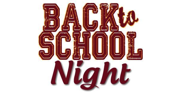 Back to School Nights Schedule, 18-19 Featured Photo