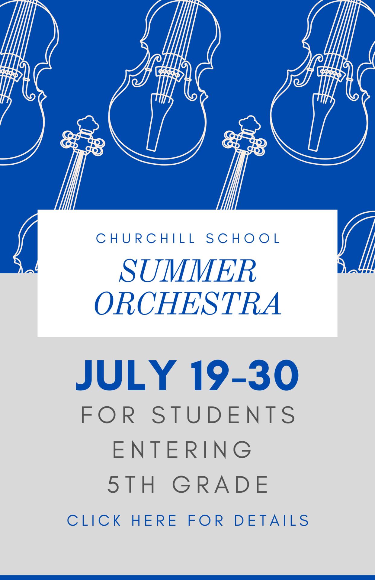 summer orchestra program