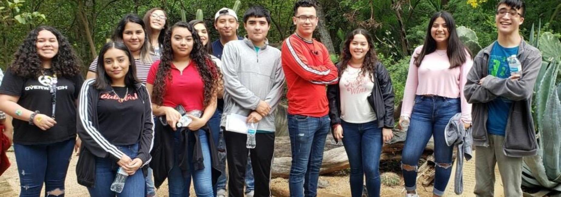 Lamar students visited Quinta Mazatlan