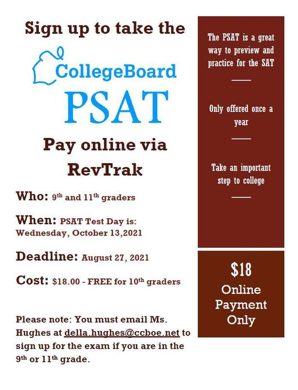 SIGN UP FOR PSAT