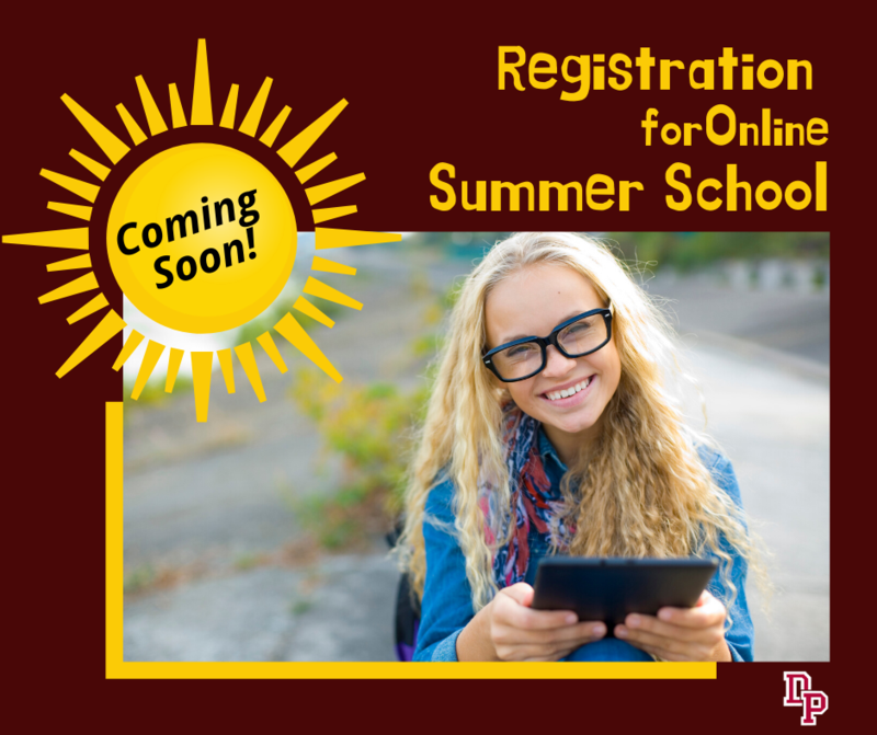summer school registration coming soon