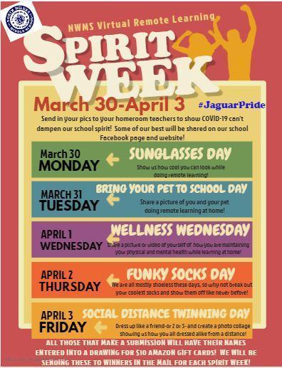School Spirit Week! Thumbnail Image