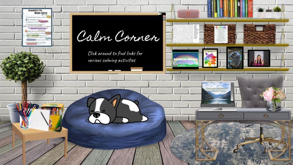 calm corner