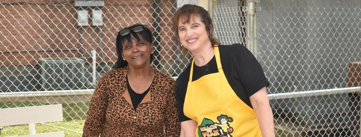 McComb School District Serves meals during Covid-19
