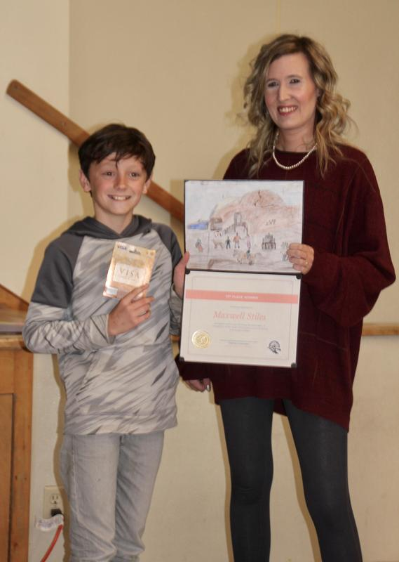 LVES Student Maxwell Stiles Wins LV Museum Poster Contest Featured Photo