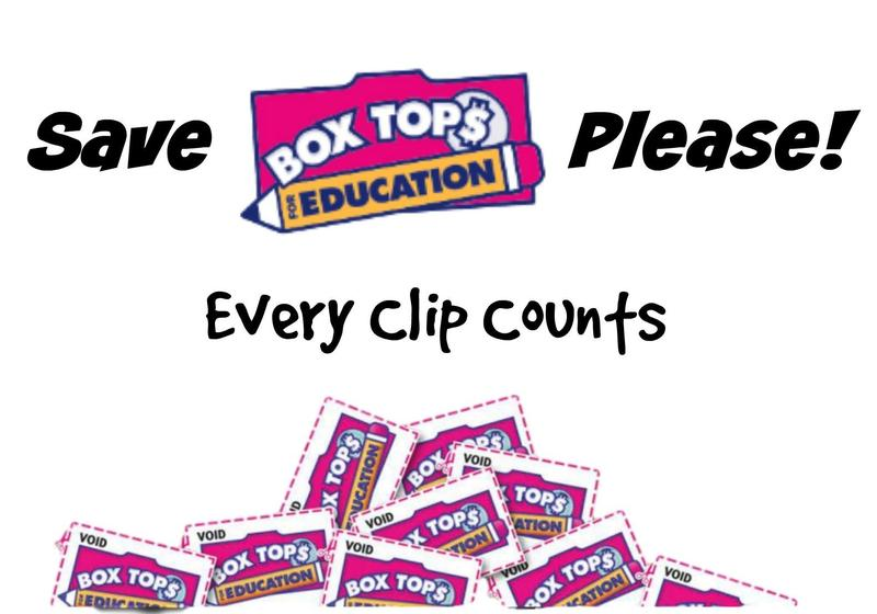 a picture of box tops with the caption