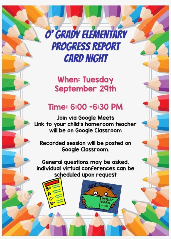 Virtual Progress Report Card Night Featured Photo