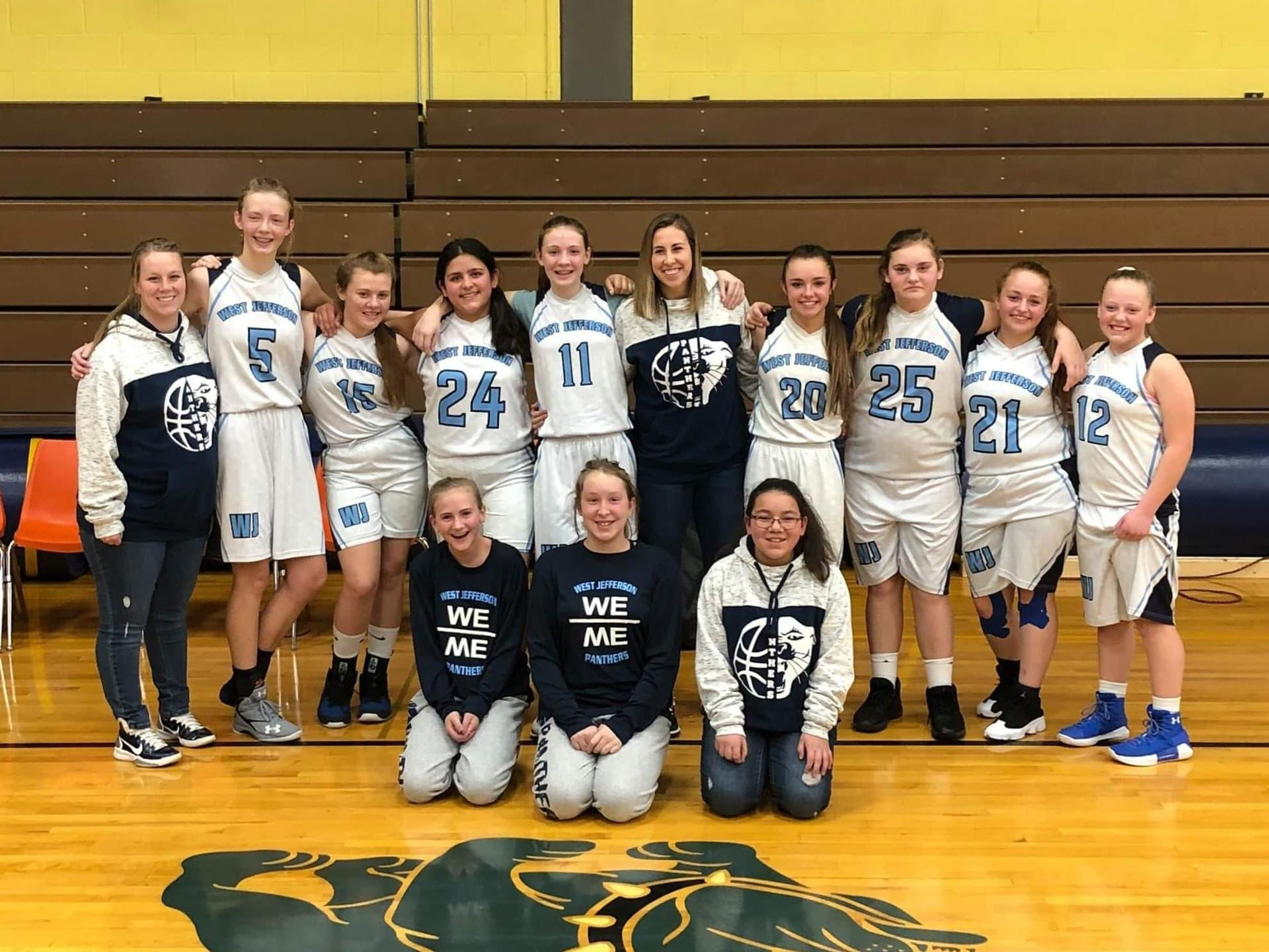 8th Grade Girls Basketball Team