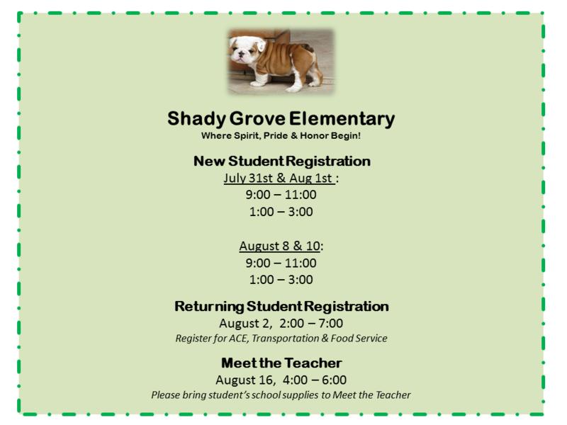 2018 Registration Dates for PreK - 2nd Grade Thumbnail Image