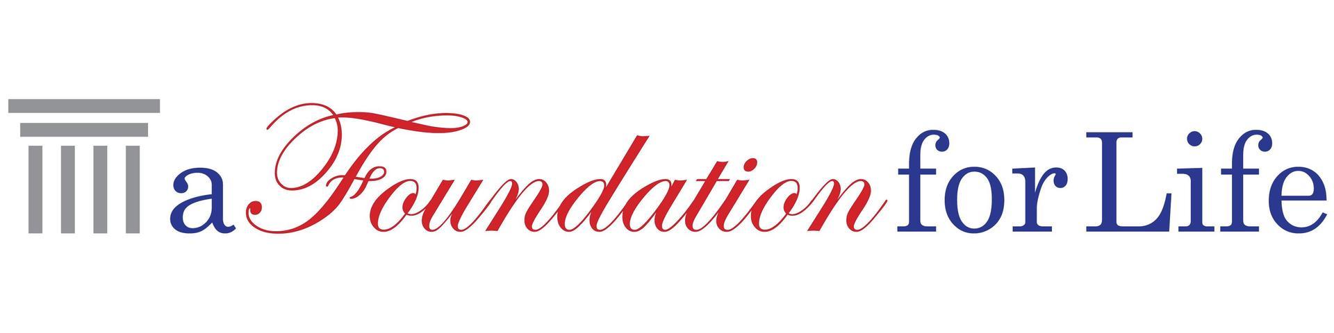 a Foundation for Life logo