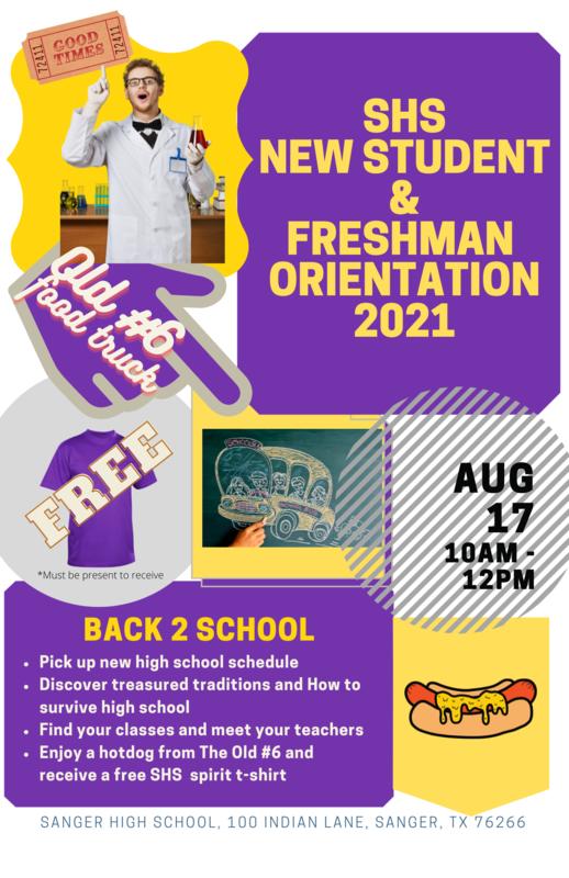 back to school orientation invite