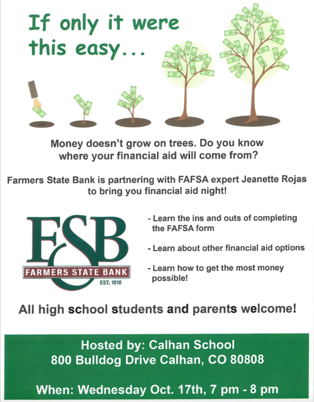 Financial Aid Night Featured Photo