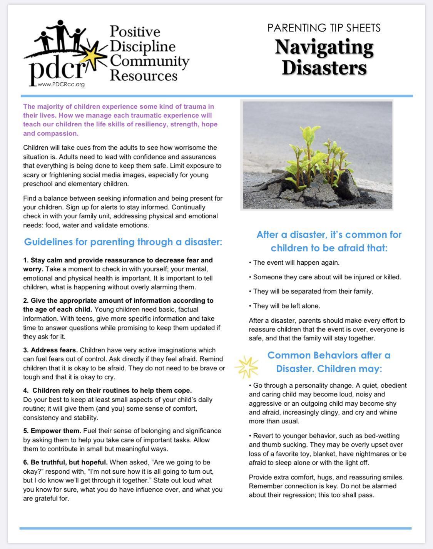 Navigating Disasters (English)
