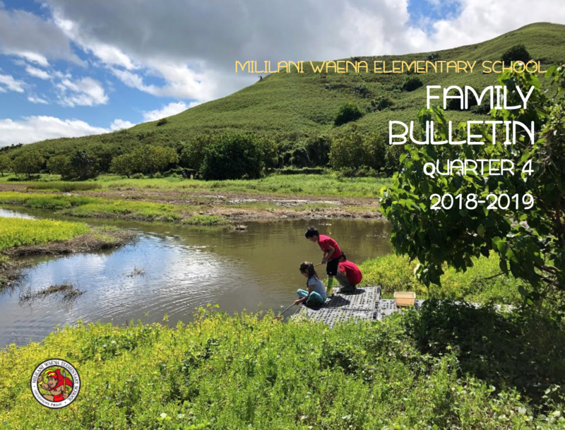 Quarter 4 Family Bulletin Online! Featured Photo