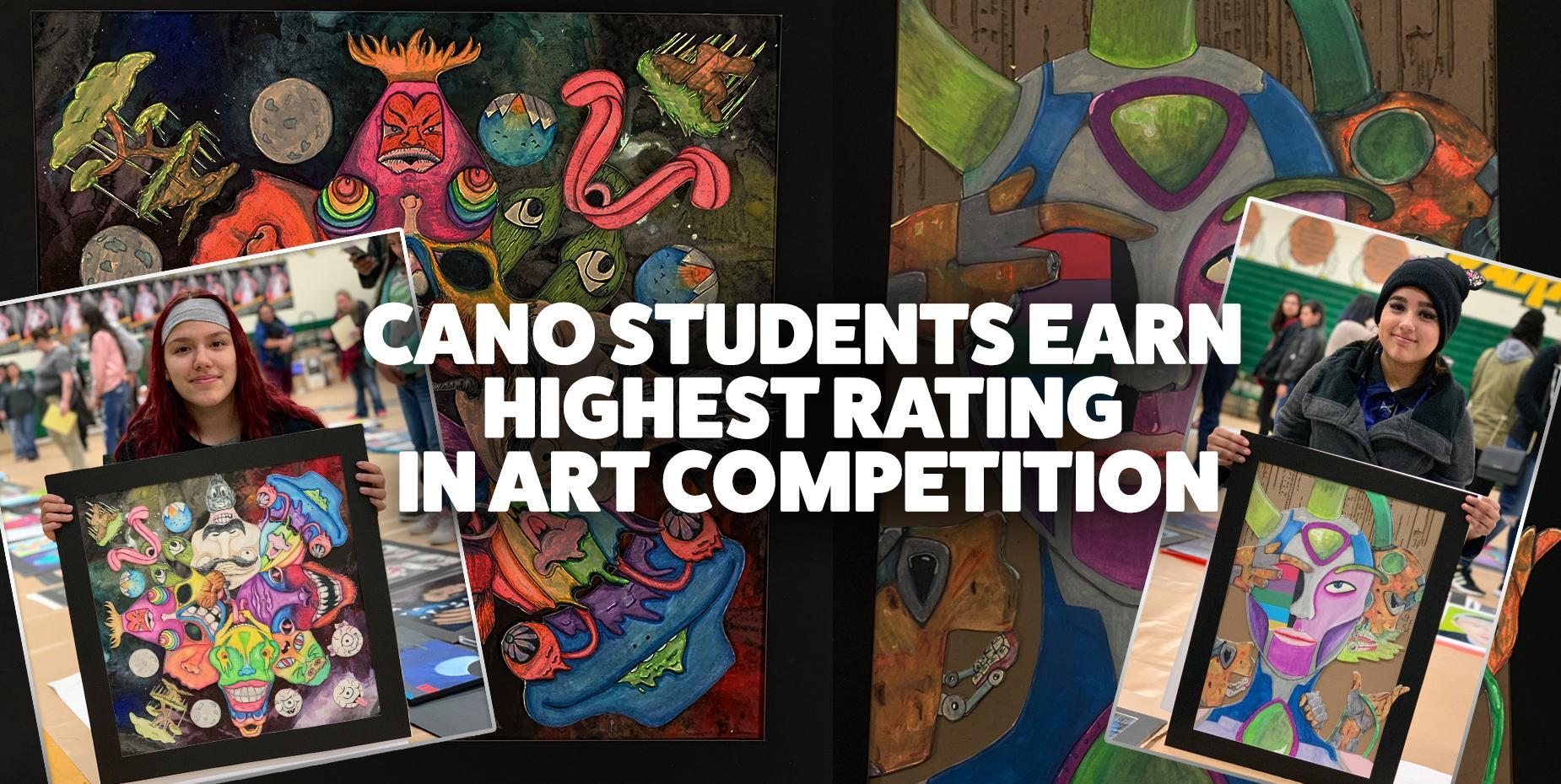Cano Students Earn Highest Rating in Art Competition