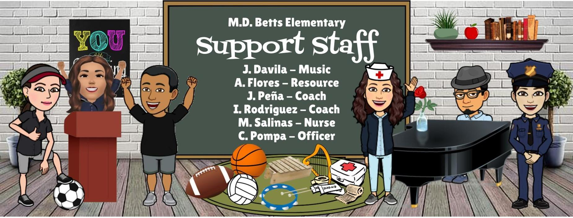 Image of Support Staff