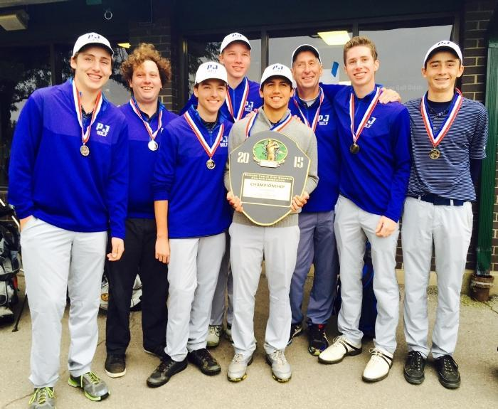 Image Boys Golf with Trophy