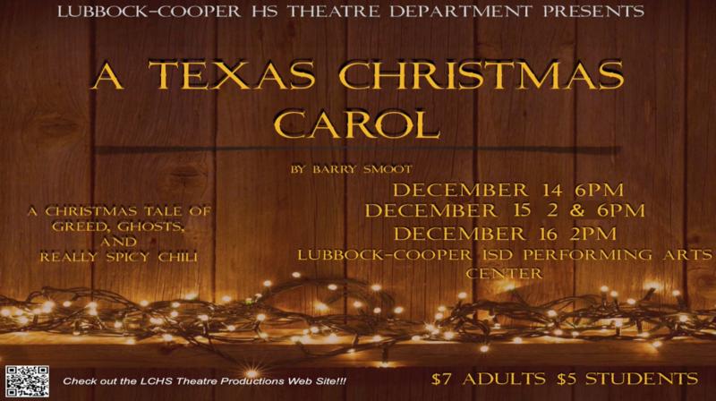 LCHS Theatre Presents A Texas Christmas Carol December 14-16 Thumbnail Image