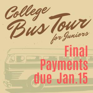 College Bus Tour