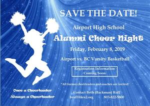 Cheer event at Airport
