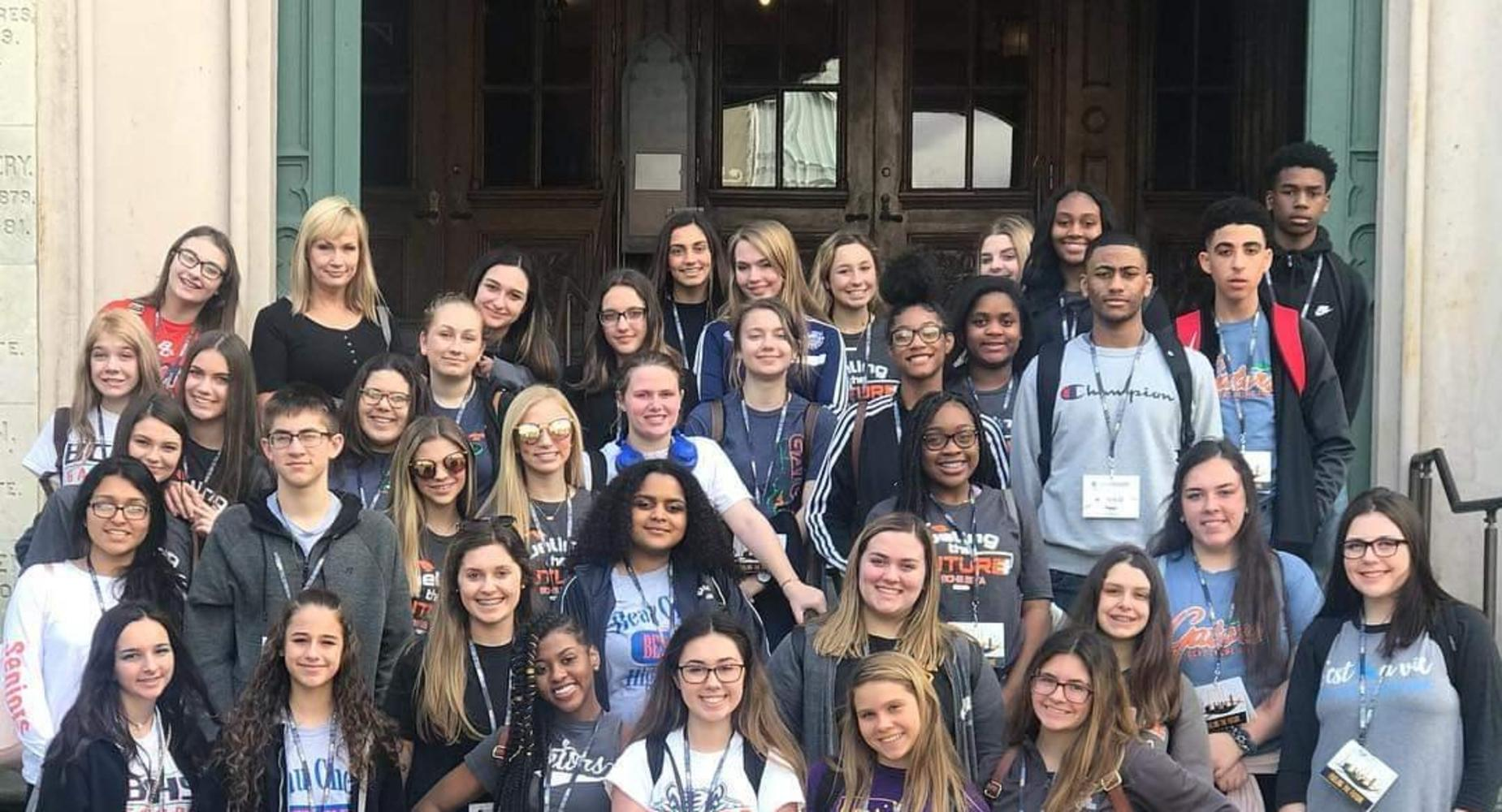BCHS BETA Club attended the Louisiana State Convention in Baton Rouge, Louisiana