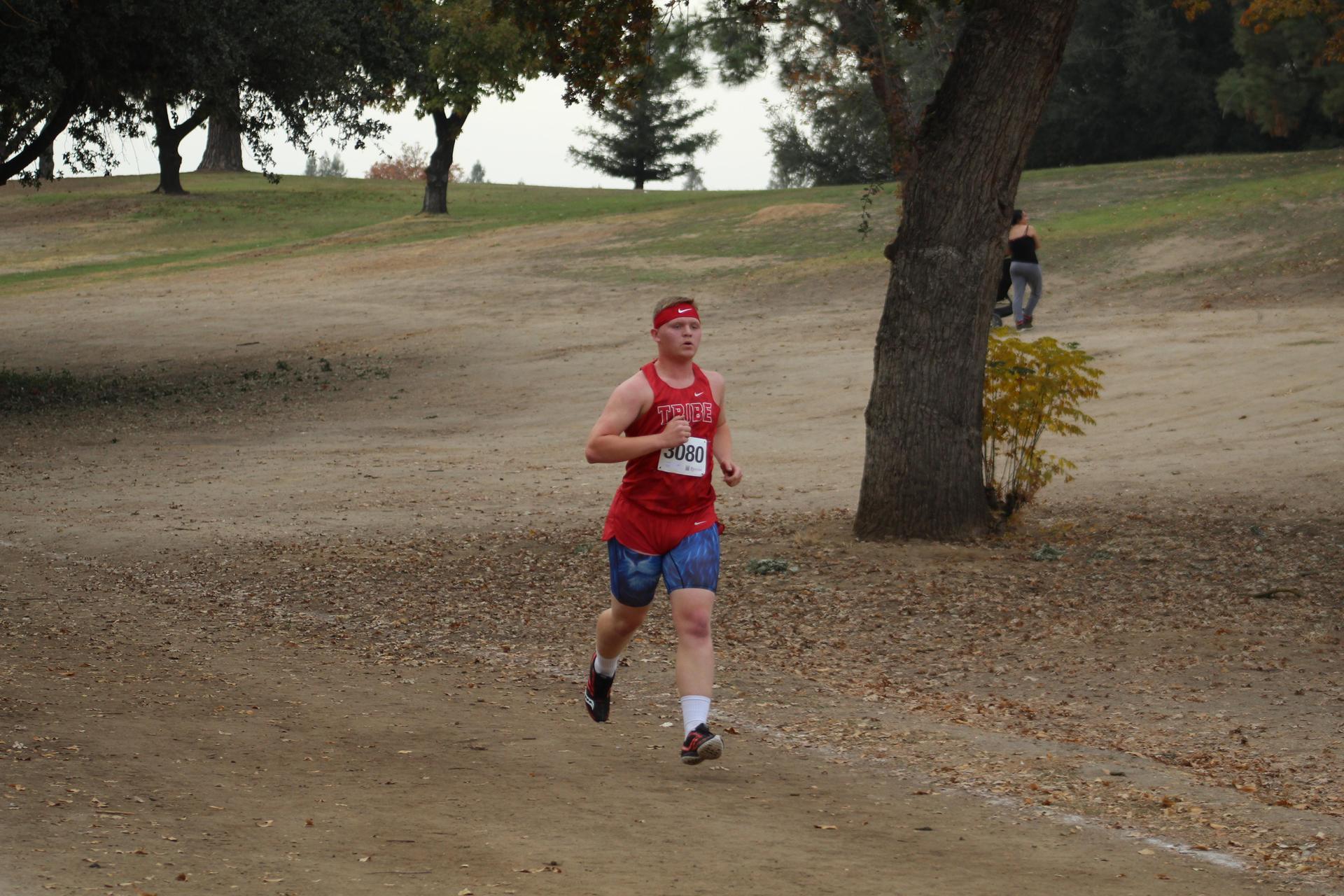 Zack Ellison racing at Woodward park