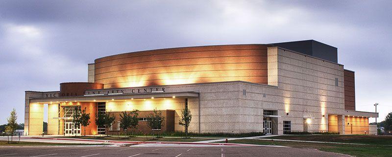 fine arts center building