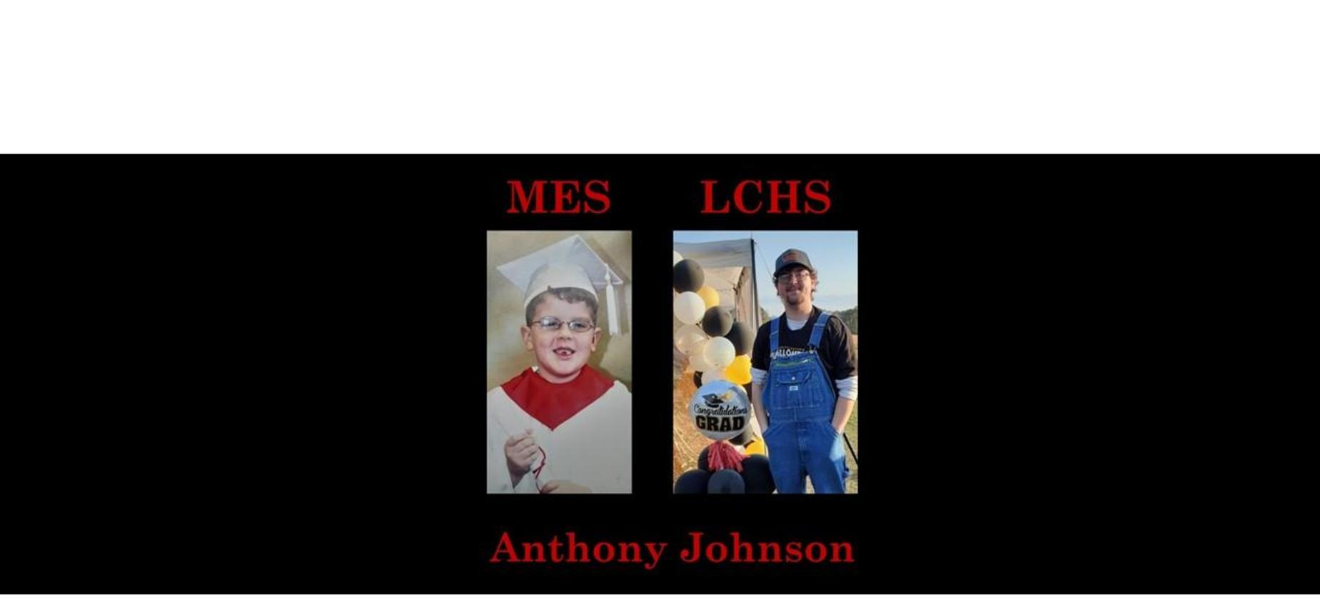 Anthony Johnson K & 12th grade pics