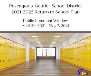 PGSD Plan to Return to School Public Comments