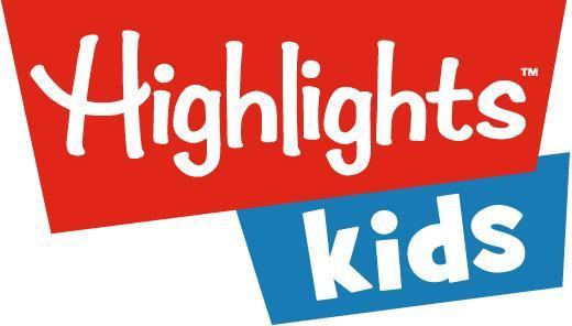 Highlights for Kids logo, two oblong shapes