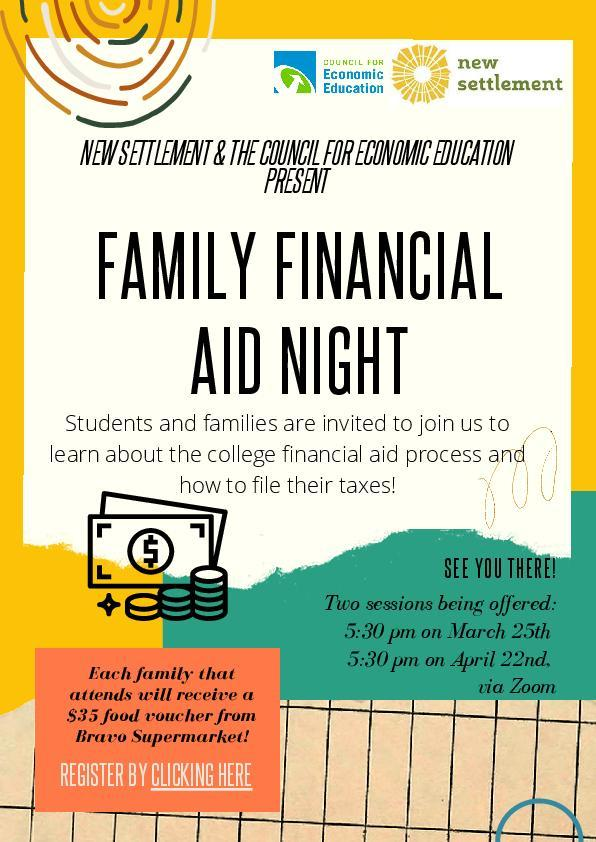 Family Financial Aid Night Featured Photo