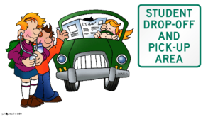 Parent drop off picture