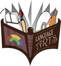 Image of book that says Language Arts