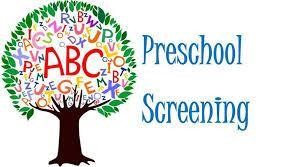 Pre-School Screening for 2018-19 school year Thumbnail Image