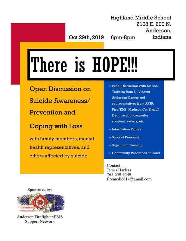 Suicide Awareness Flyer