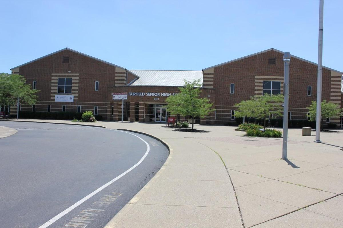 This is an image of the exterior of Fairfield High School.