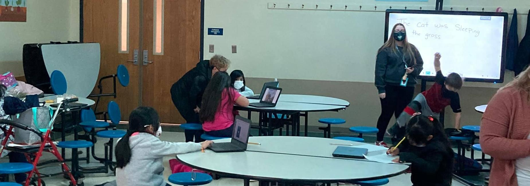 eLearning support for Starr Elementary School students