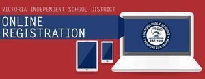 visd student online registration banner