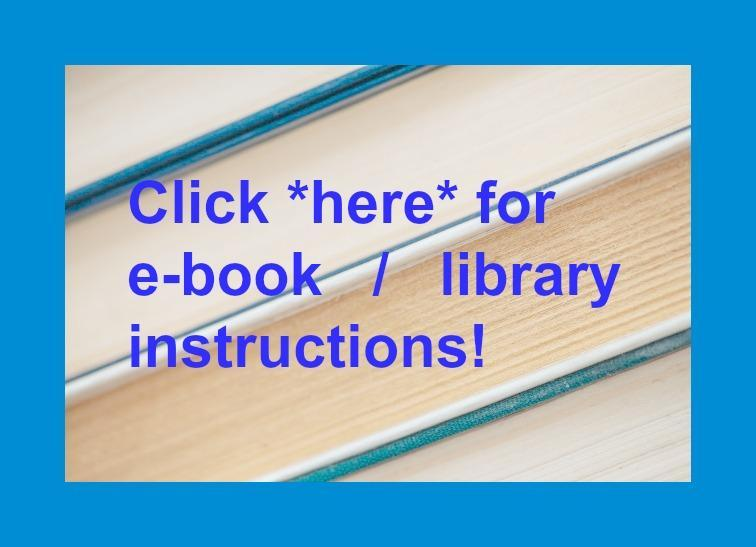 *e-books* and all things ~LIBRARY~ Featured Photo