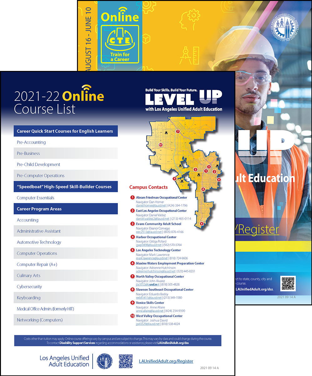 Career Technical Education Flyer - Online - Cover 02