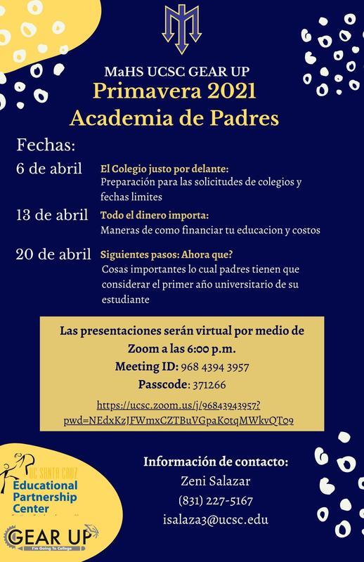 Parent Academy in Spanish