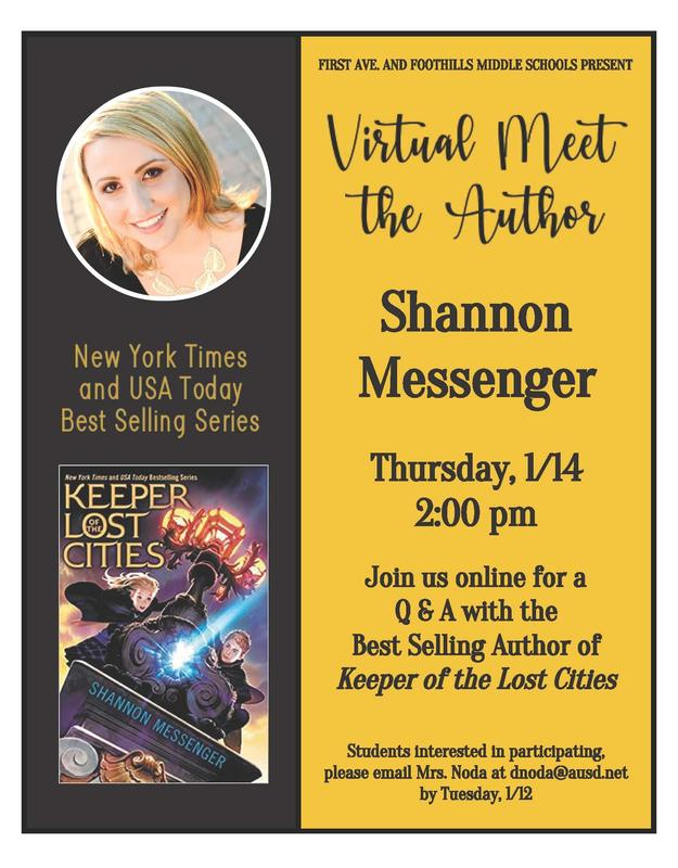 Meet the Author Shannon Messenger