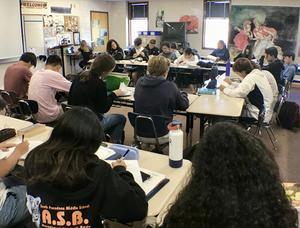 Multicultural Literature class