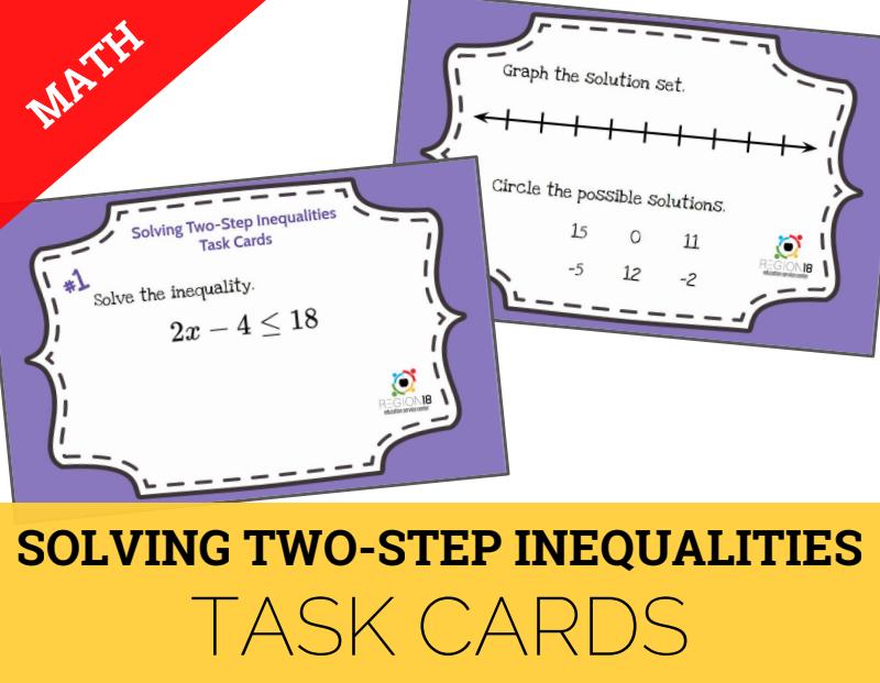 Grade 7 Math STAAR Review Activities – Mathematics – ESC