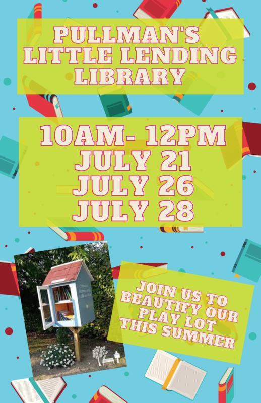 Flyer for lending library