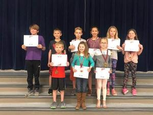 Reflections participants for 2018-2019 school year
