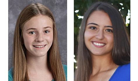 Two Mars Area School District students were named Navigating Teen Life Ambassadors for UPMC Children's Community Pediatrics (CCP).  Senior Julia McCarty and seventh-grader Isabella Rossi are among 26 teen ambassadors who have been working to promote health and wellness among teens in the Pittsburgh Region via UPMC CCP's Navigating Teen Life program.