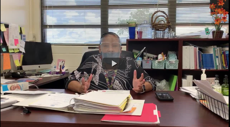 A Message From Principal Fabrao Featured Photo